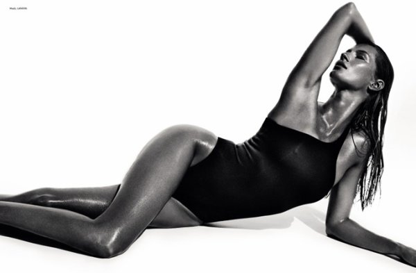 Gisele Bundchen pose pour Vogue.