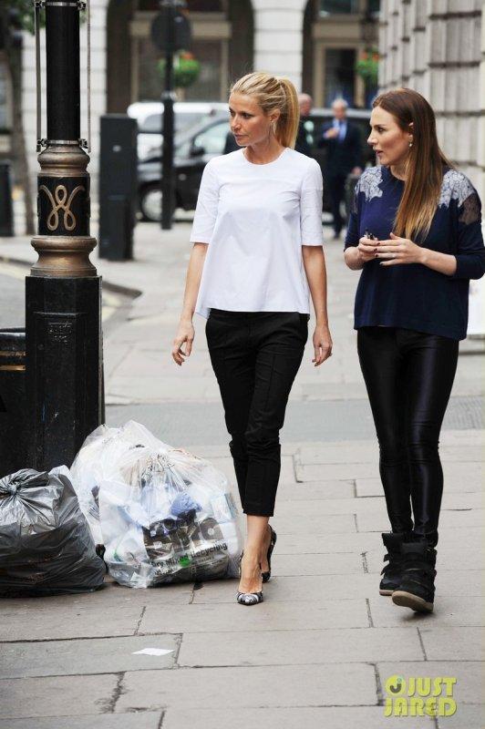Gwyneth Paltrow de sortie avec une amie. Londres