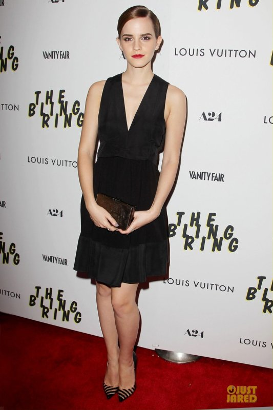 Sofia Coppola et Emma Watson à une projection de The Bling Ring. New York