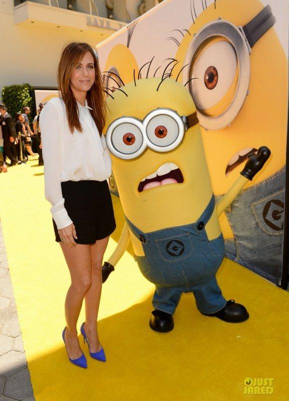 Kristen Wiig à la première de Moi, Moche et Méchant 2. Universal City, Californie