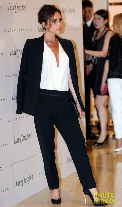Victoria Beckham à un évènement.