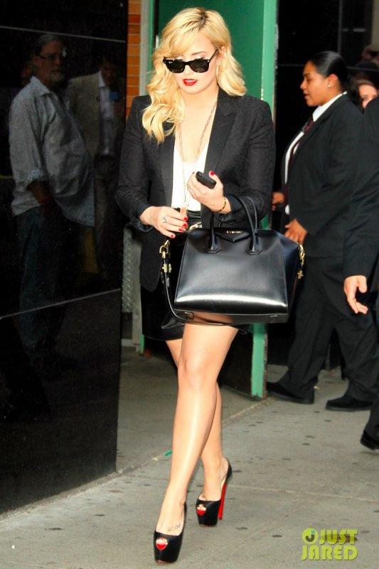 Demi Lovato de sortie. New York