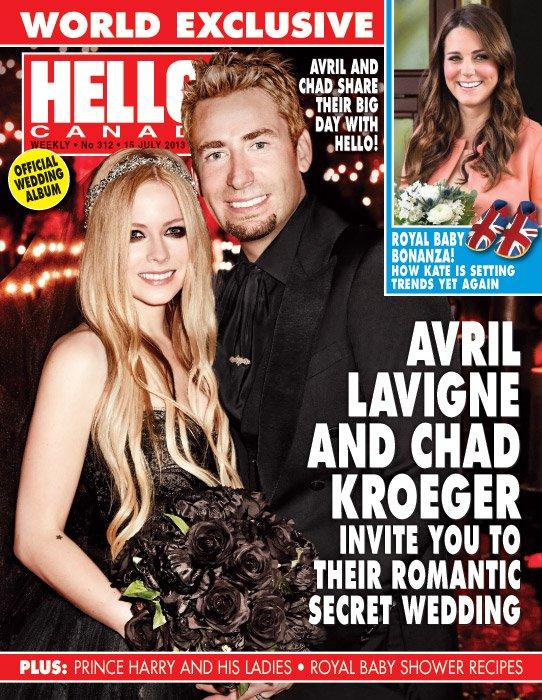 Avril Lavigne s'est mariée.