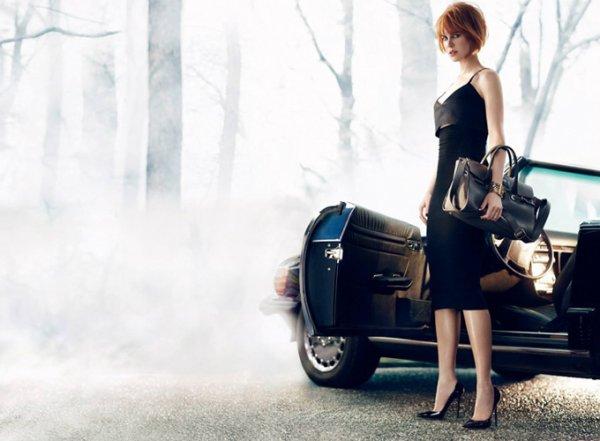 Nicole Kidman pose pour Jimmy Choo.