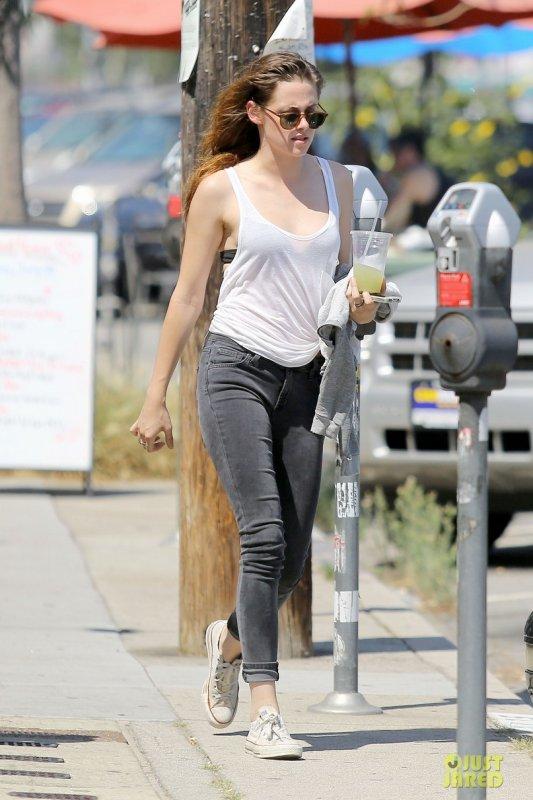 Kristen Stewart de sortie. Glendale, Californie
