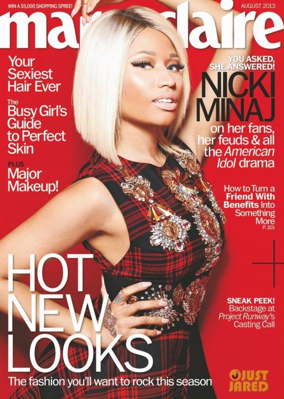 Nicki Minaj pose pour Marie Claire.