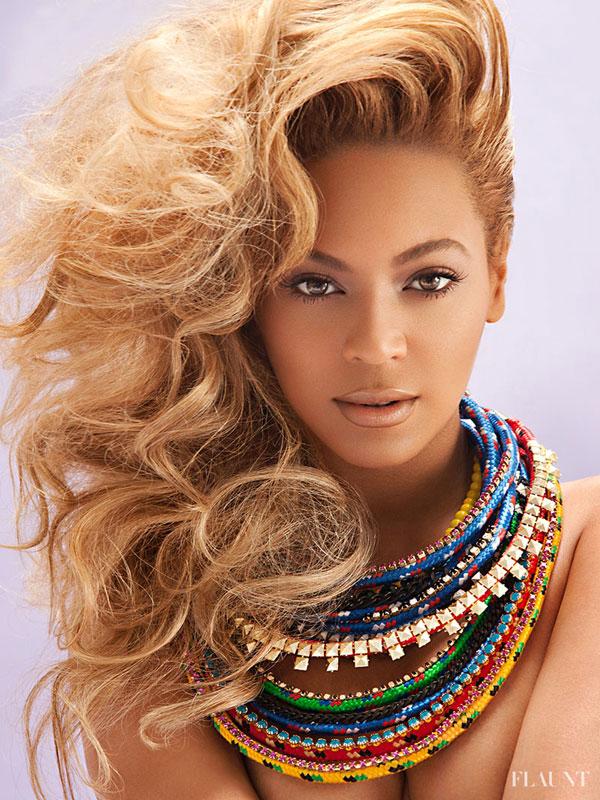Beyonce pose pour Flaunt.
