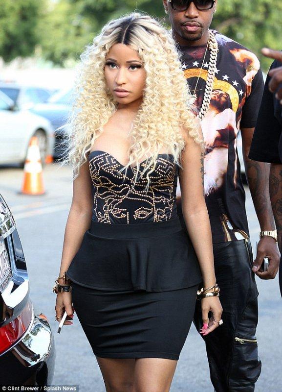 Nicki Minaj de sortie.