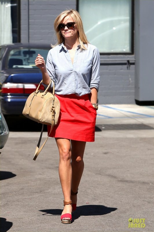 Reese Witherspoon de sortie. Beverly Hills