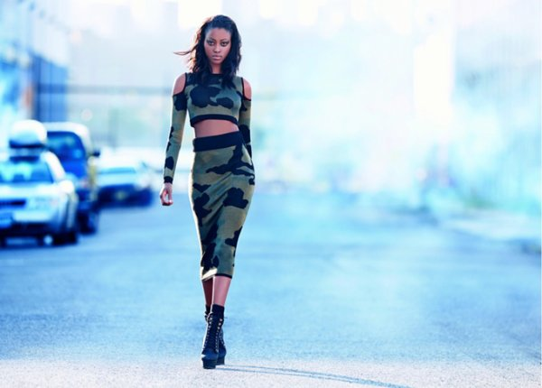 Rihanna x River Island  automne / hiver 2013-2014