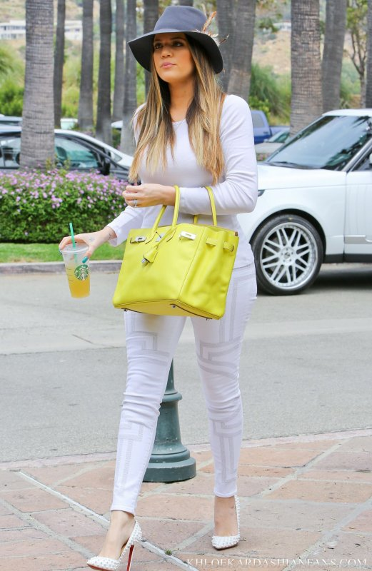 Klhoé Kardashian de sortie.