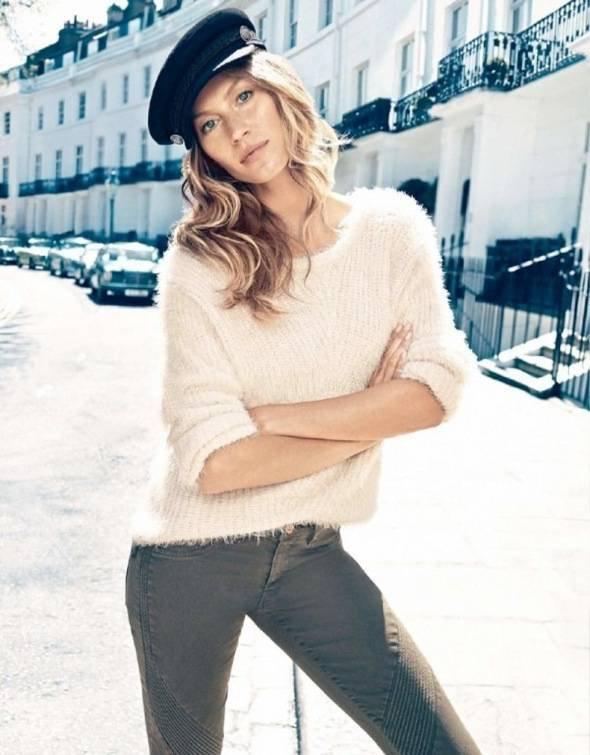 Gisele Bundchen pose pour H&M.