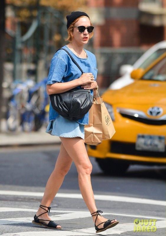 Chloé Sevigny de sortie. New York