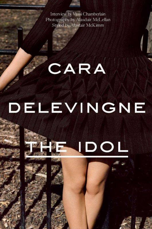 Cara Delevingne pose pour Industrie.