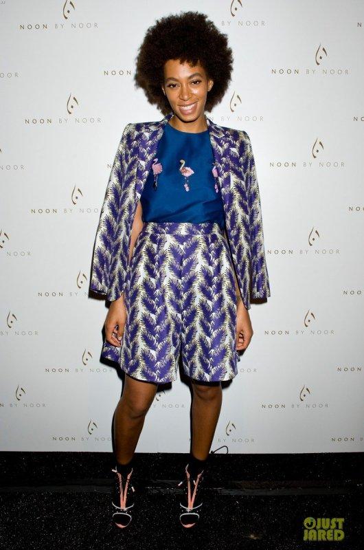 Solange Knowles à un évènement.