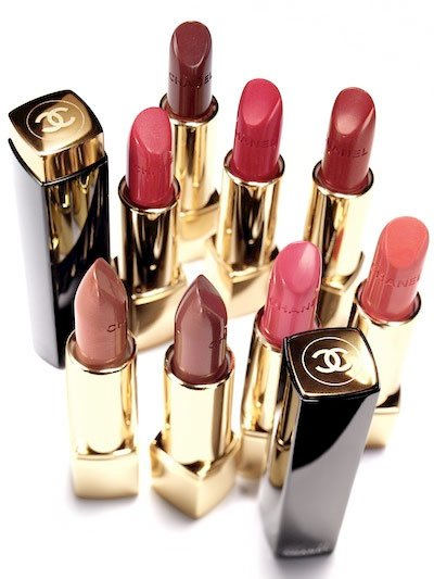 Chanel  collection rouge allure moiré