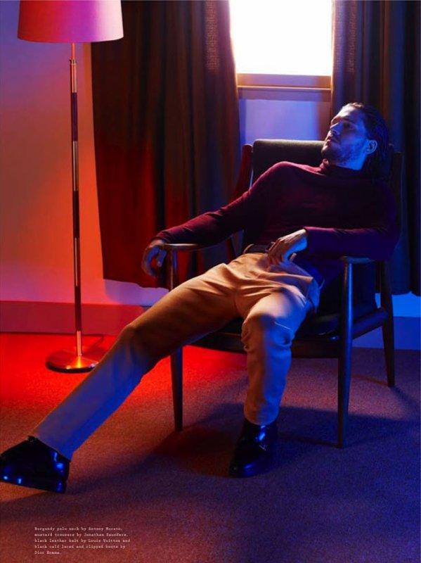 Kit Harington pose pour Wonderland.