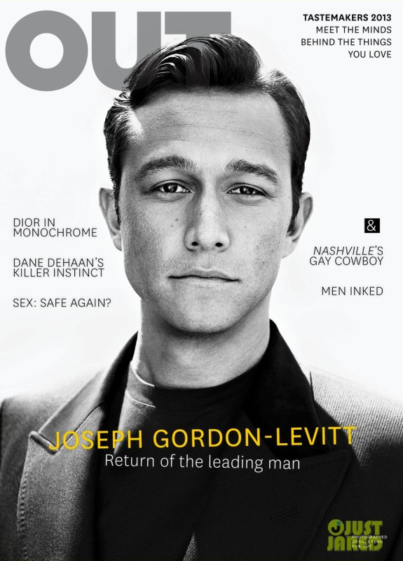 Joseph Gordon Levitt pose pour OUT.