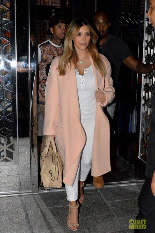 Kim Kardashian de sortie.