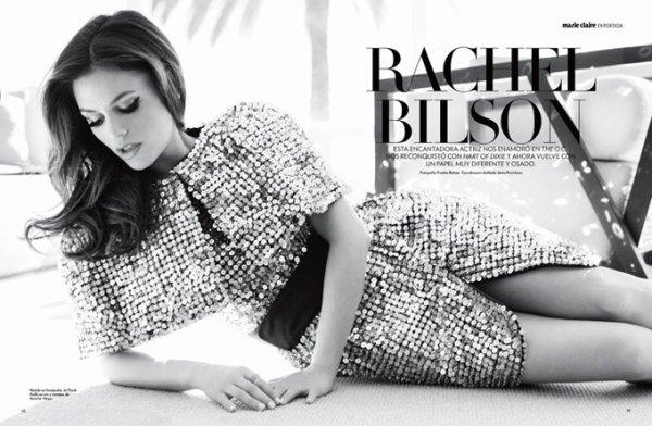 Rachel Bilson pose pour Marie Claire.