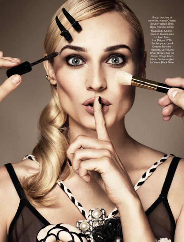 Diane Kruger pose pour Glamour.