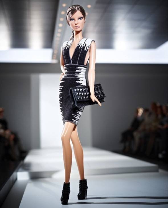 Hervé Leger x Barbie