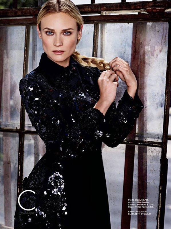 Diane Kruger pose pour California Style.