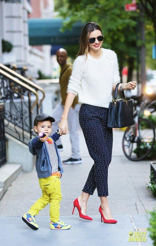 Miranda Kerr de sortie. New York