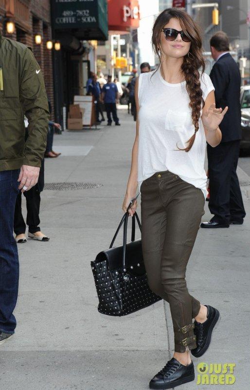 Selena Gomez de sortie. New York
