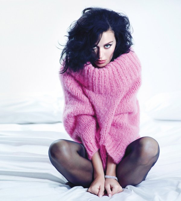 Katy Perry pose pour W.