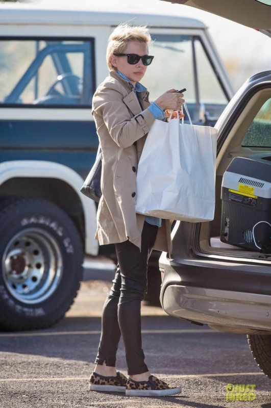 Michelle Williams de sortie. New York