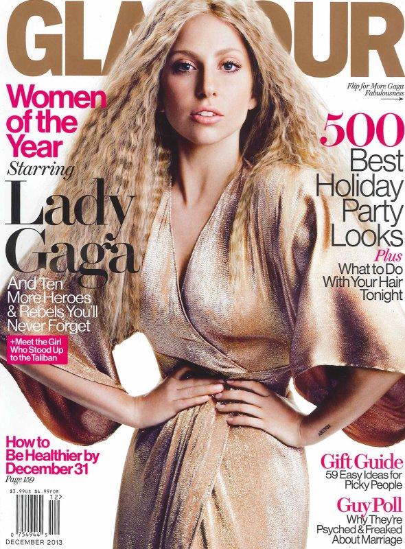 Lady Gaga pose pour Glamour.