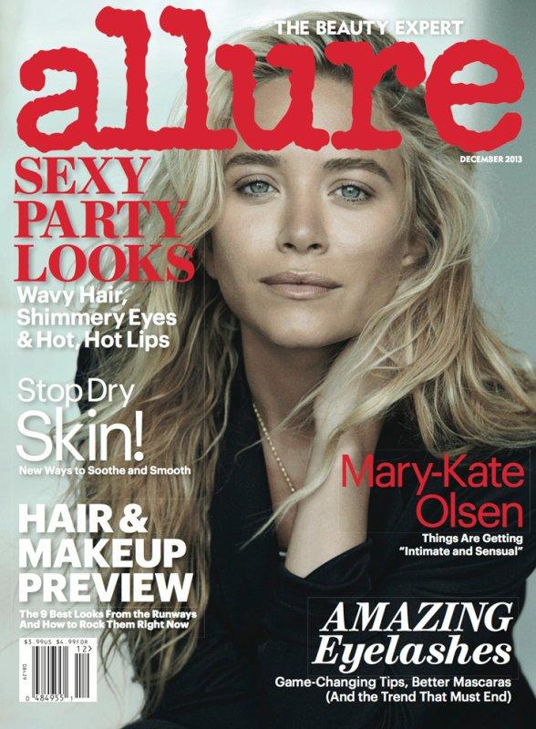 Les soeurs Olsen posent pour Allure.