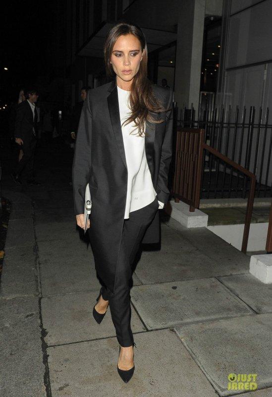 Victoria Beckham à un évènement. Londres
