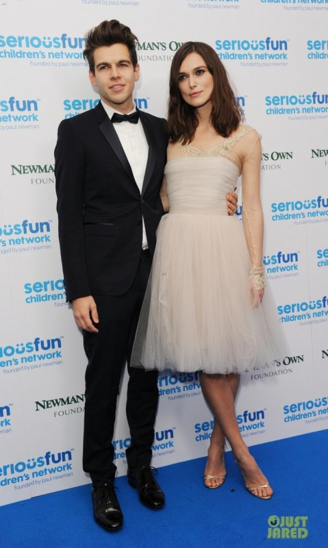 Keira Knightley à un évènement à Londres. 2013 SeriousFun London Gala