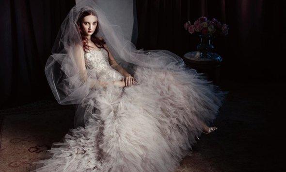 Monique Lhuillier  robes de mariée printemps / été 2014