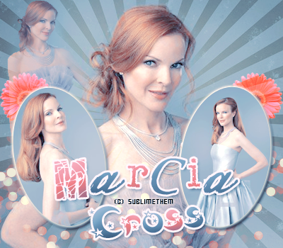 Marcia Cross Créa : sambe01 _____________________________________________-__________________________ Catégorie : -Actrice- Déco : SublimeThem_______________________________________________________________t____Posté : Novembre 2016