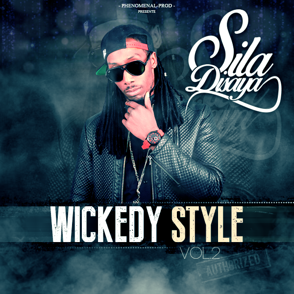 "Cover de ma mixtape ""Wickedy Style vol.2"" disponible le 20 juin 2015"