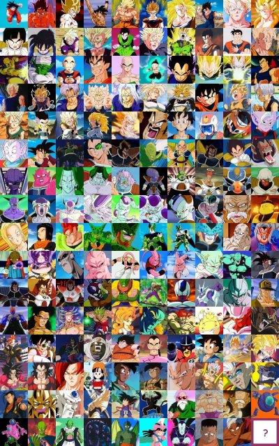 Tous les personnage de dbz enfin presque lol blog de story of the saiyen x - Tous les personnages de violetta ...