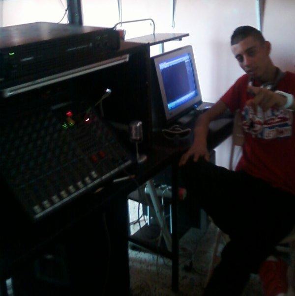 In My home Studio