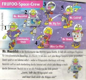 Onken - 1999 - Frufoo Space Crew