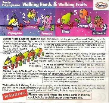 Onken - 1996 - Papageno, Walking Heads & Walking Fruits