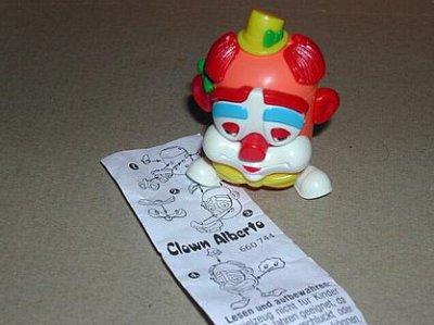 1996 - Clown-Spardosen - Clown Alberto mit BPZ 660744
