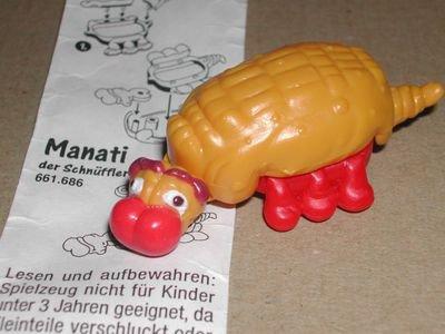 1996 - Knubbelige Krabbelmonster - Manati mit BPZ