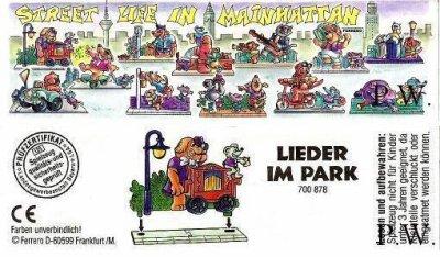 1996 - Street Life in Mainhattan - Lieder im Park