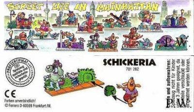 1995/ 1996 - Street Life in Mainhattan - Schickeria
