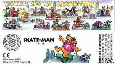 1995/ 1996 - Street Life in Mainhattan - Skate-Man