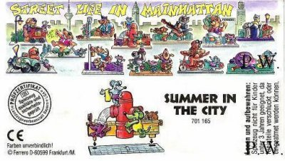 1995/ 1996 - Street Life in Mainhattan - Summer in the City