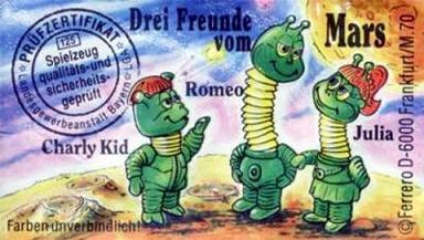 1991 - Drei Freunde vom Mars