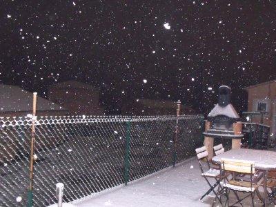 Neige à Draguignan- le 01/02/2012